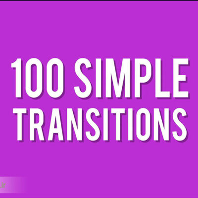 موشن گرافیک Simple Transitions